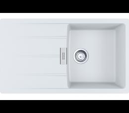 Franke zlewozmywak Centro CNG 611-86 Fragranit+ biały polarny