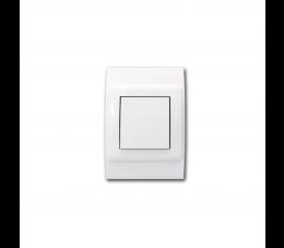 USTM gniazdo ssące Sylo, kolor: biały