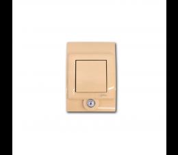USTM gniazdo ssące Sylo Lock, kolor: kremowy