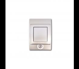 USTM gniazdo ssące Sylo Lock, kolor: srebrny