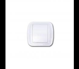USTM gniazdo ssące z ramką Uno, kolor: biały