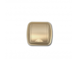 USTM gniazdo ssące z ramką Uno, kolor: szampański