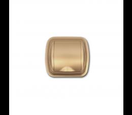USTM gniazdo ssące z ramką Uno, kolor: złoty