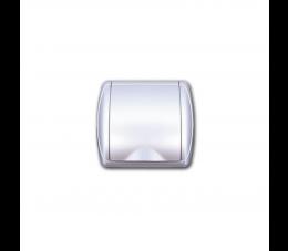 USTM gniazdo ssące Due, kolor: srebrny