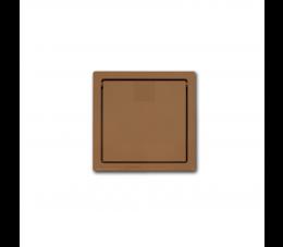 USTM gniazdo wyrzutowe, kolor: jasny brąz