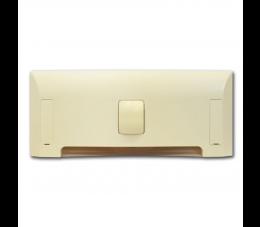 USTM szufelka automatyczna Uno, kolor: kremowy