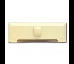 USTM szufelka automatyczna Due, kolor: kremowy