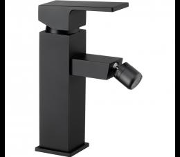 Deante Anemon Bis bateria bidetowa stojąca z korkiem click-clack, czarna