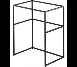 Deante Correo konsola łazienkowa stojąca 60 cm, czarna
