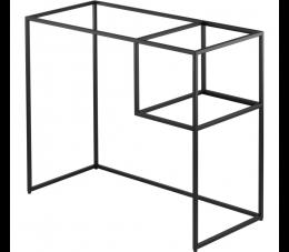 Deante Correo konsola łazienkowa stojąca 90 cm, czarna