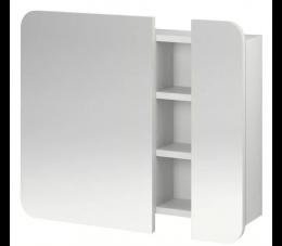 Cersanit Pure szafka lustrzana 60 cm biała WYPRZEDAŻ