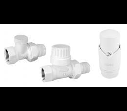 Ferro zestaw termostatyczny prosty, biały