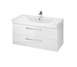 Cersanit zestaw B309 Lara Mille 100 cm, kolor: biały (szafka + umywalka)