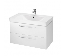 Cersanit zestaw B348 Lara Mille 80 cm, kolor: biały (szafka + umywalka)