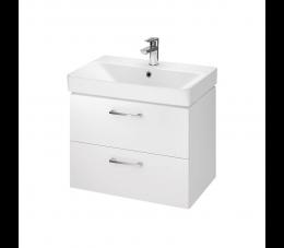 Cersanit zestaw B279 Lara Mille Slim 60 cm, kolor: biały (szafka + umywalka)