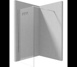 Deante Mokko kabina walk-in 100 cm profile: chrom, szkło: transparentne
