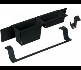 Deante Magnetic zestaw akcesoriów, nero - czarny matowy