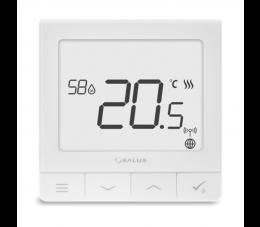 SALUS Controls Quantum podtynkowy regulator temperatury z czujnikiem wilgotności, 230V