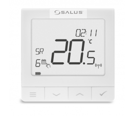 SALUS Controls OpenTherm natynkowy, akumulatorowy regulator temperatury
