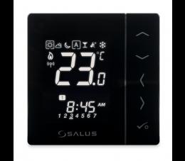 SALUS Controls natynkowy, bezprzewodowy, cyfrowy regulator temperatury - bateryjny
