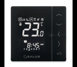 SALUS Controls Expert NSB podtynkowy, przewodowy, cyfrowy regulator temperatury, czarny
