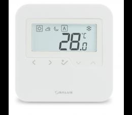 SALUS Controls Smart Home natynkowy, bezprzewodowy, cyfrowy regulator temperatury - dobowy