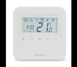 SALUS Controls Expert HTR natynkowy, przewodowy, cyfrowy regulator temperatury - tygodniowy