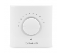 SALUS Controls Smart Home natynkowy, bezprzewodowy, elektroniczny regulator temperatury - bateryjny