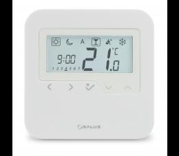 SALUS Controls Expert HTR natynkowy, przewodowy, cyfrowy regulator temperatury - dobowy