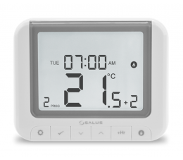 SALUS Controls przewodowy, natynkowy regulator temperatury OpenTherm - tygodniowy