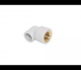 Vesbo kolanko PP 90° z GW mosiężnym 25 mm x 3/4