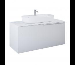 Elita Glam szafka podumywalkowa 120 cm 1S+1S, biały matowy