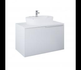 Elita Glam szafka podumywalkowa 90 cm 1S+1S, biały matowy