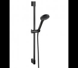 Ferro Horn Black zestaw natryskowy przesuwny, kolor czarny