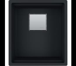 Franke zlewozmywak Kanon KNG 110-37 Fragranit+, czarny mat
