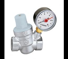 Caleffi reduktor ciśnienia wody z manometrem 1/2