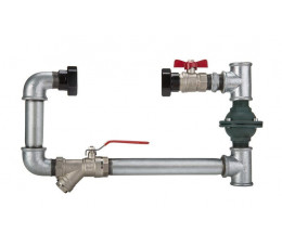 Przyłącze poziome pompy z zaworem różnicowym ZR 40 TECH-POL