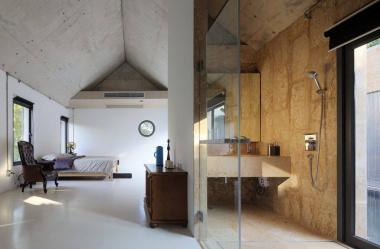15 projektów wnętrz z otwartą łazienką