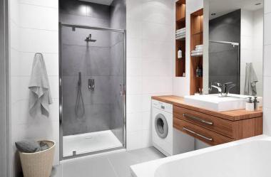Sprytne rozwiązania dla małej łazienki
